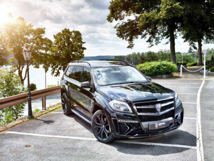 Mercedes-Benz GL Black Crystal by Larte Design