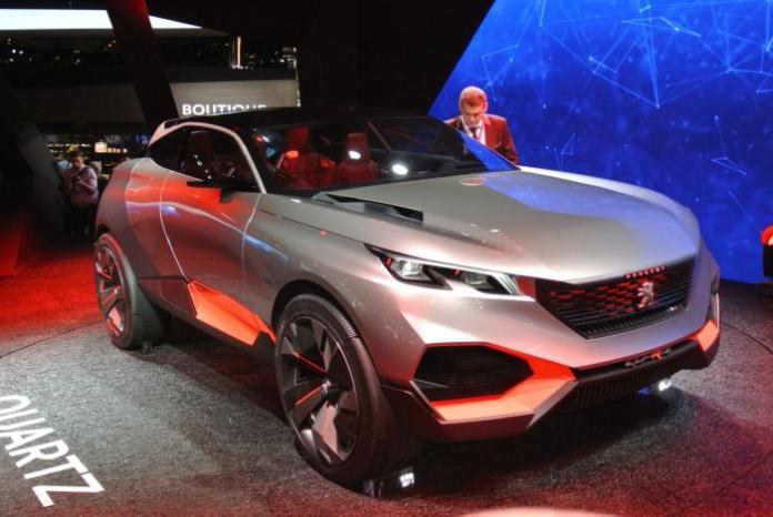 Peugeot Quartz live at 2014 Paris Motor Show 1