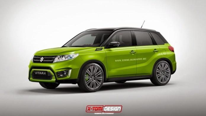 Suzuki Vitara Sport front2