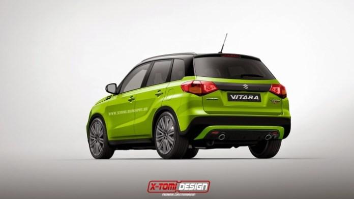 Suzuki Vitara Sport rear2