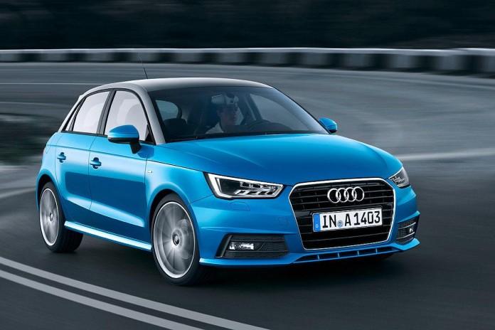 Audi A1 facelift 1