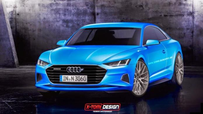 Audi A9 rendering (1)