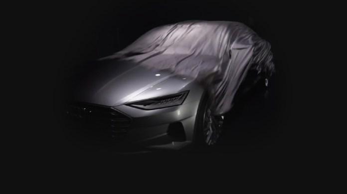Audi A9 teaser