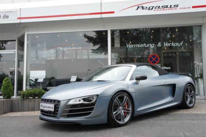 Audi R8 GT Spyder stolen 1