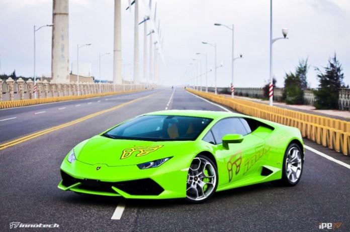 Lamborghini Huracan with iPE Performance custom exhaust (5)