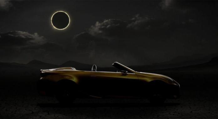 Lexus LF-C2 concept teaser 2