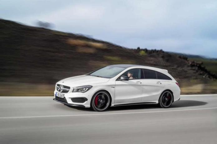 Mercedes-Benz CLA 45 AMG Shooting Brake 5