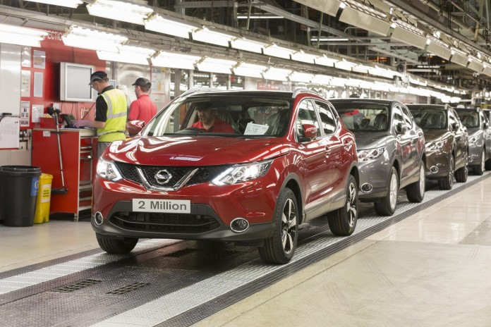 Nissan Qashqai 2 million made