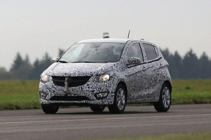 Opel Karl Spy Photos (1)