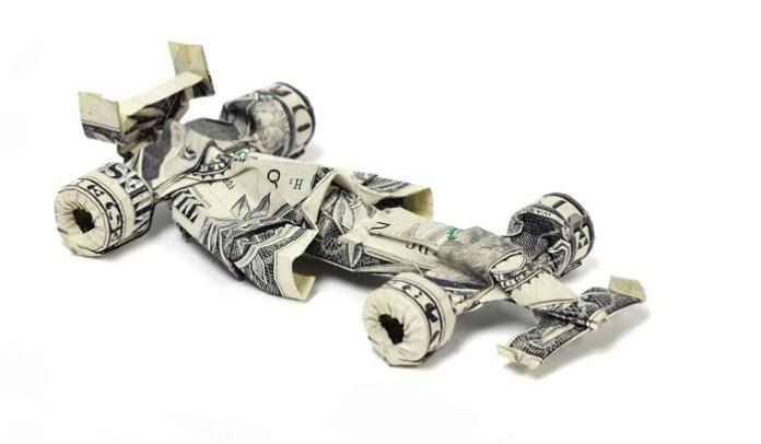 Origami-Money-Cars-Formula-One-Dollars-Desktop-Wallpaper