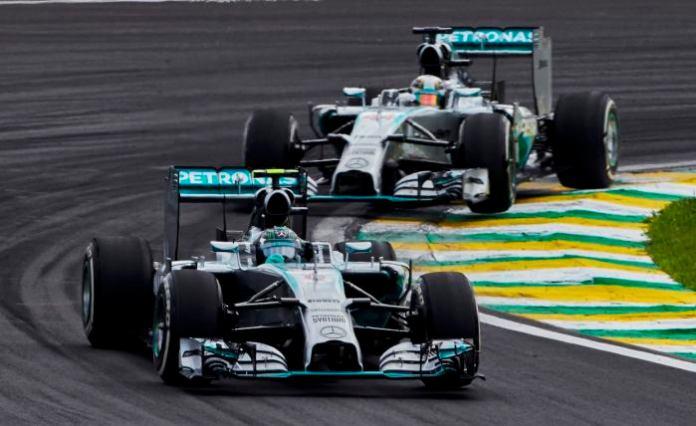 Rosberg-Hamilton Brazil