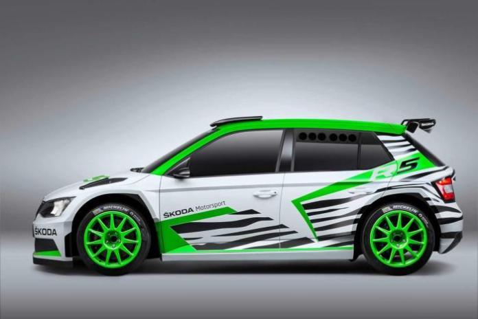 Skoda Fabia R5 concept 3