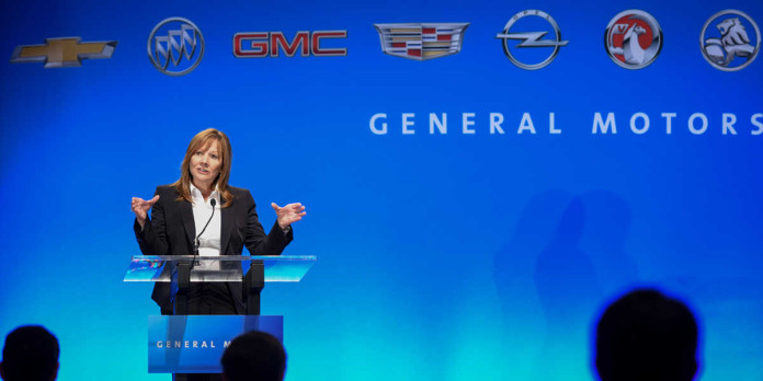 gm logo brands mary barra