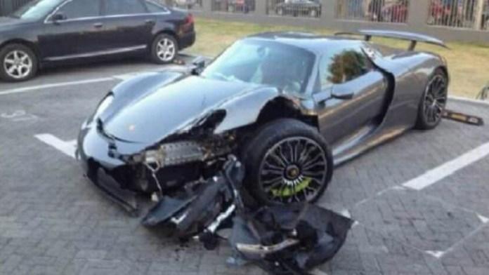 918 spyder crash