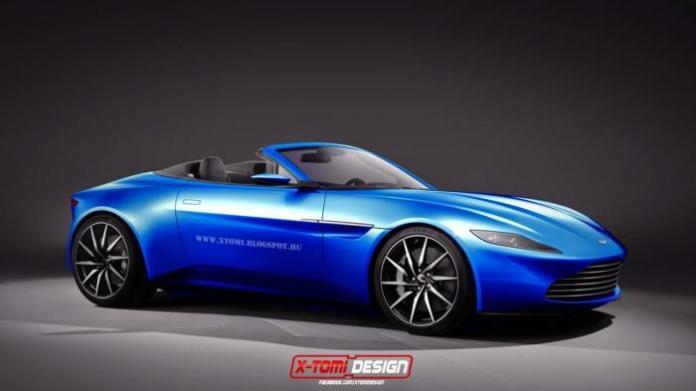 Aston Martin DB10 Volante rendering
