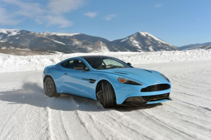 Aston Martin On Ice Winter Driving Experience (1)