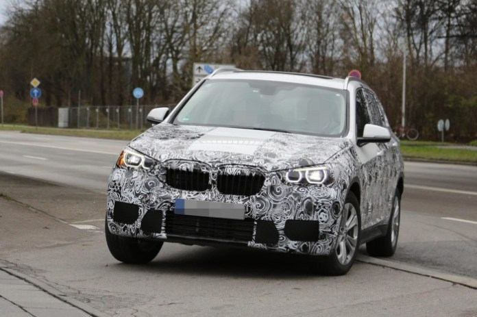BMW X1 2016 spy photos (11)