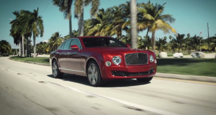 Bentley Mulsanne Speed driven