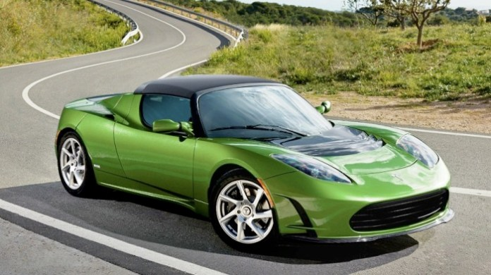 Green-Tesla-Roadster