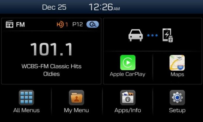 Hyundai Display Audio System (1)