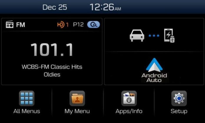 Hyundai Display Audio System (2)