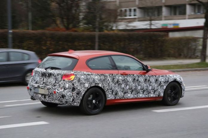 MW 1-Series Facelift spy photos (3)