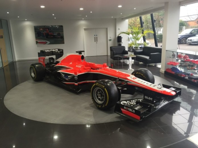 Marussia Auction 2