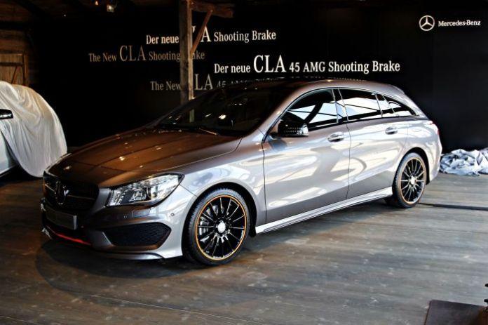 Mercedes-Benz CLA Shooting Brake 2015 live photos (1)