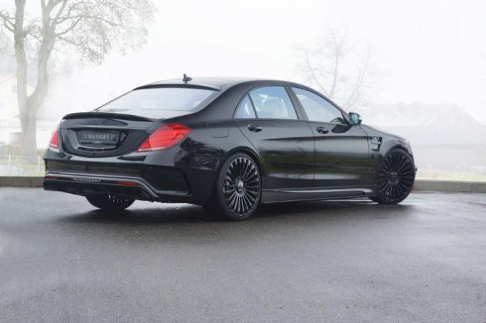 Mercedes S63 AMG by Mansory 3