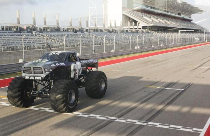 Raminator Monster Truck Guinness World Record (2)