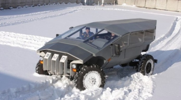 Russian Humvee Built by ZIL (11)