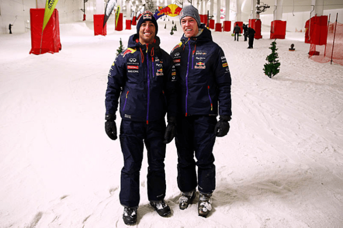 2015 winter ricciardo and kvyat