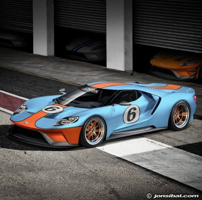 2017-ford-gt-rendering gulf-oil
