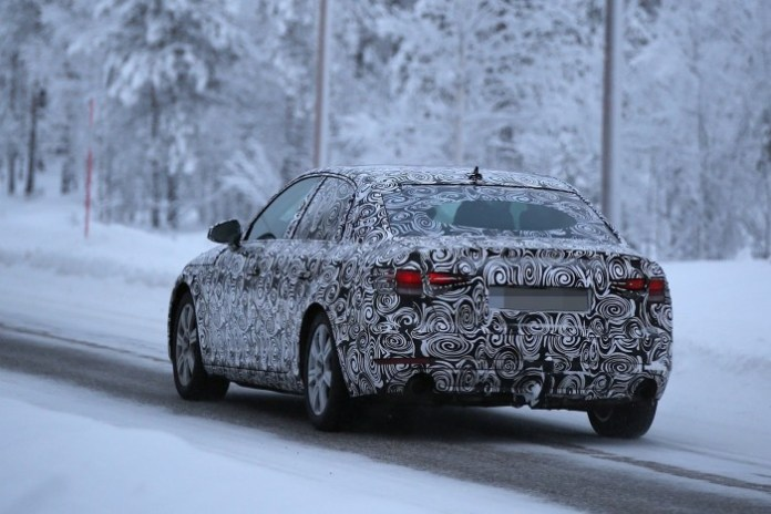 Audi A4 2016 Spy Photos (5)
