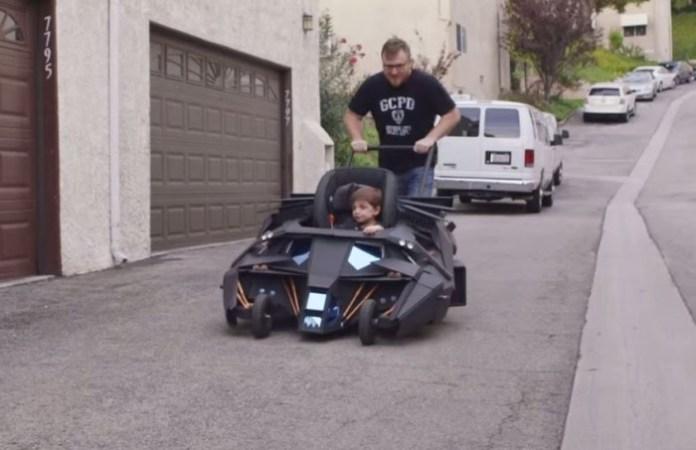 Batmobile Baby Stroller The Dark Knight