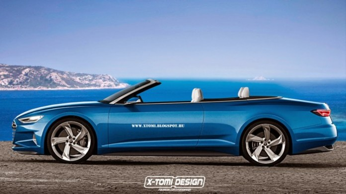 Chevrolet Camaro 2015, Audi Prologue cabrio and Chrysler 300 Utility Coupe Renderings (1)