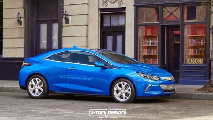 Chevrolet Volt Coupe front2
