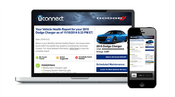 Chrysler Uconnect Access services (1)