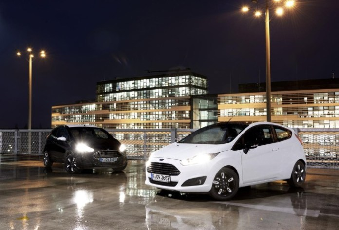 Ford Fiesta Black and White Editions (1)