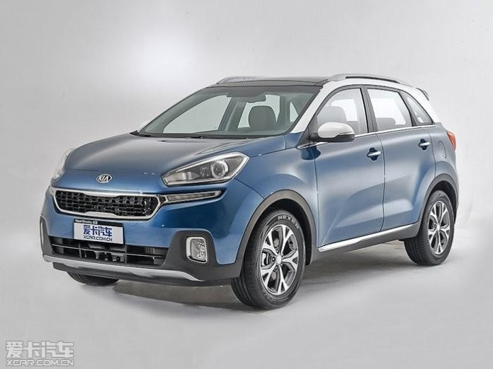 Kia KX3 leaked official image 1