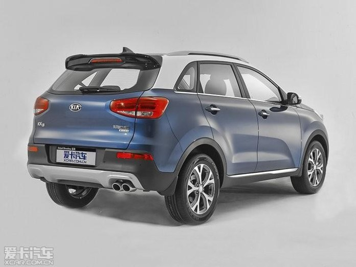 Kia KX3 leaked official image 2