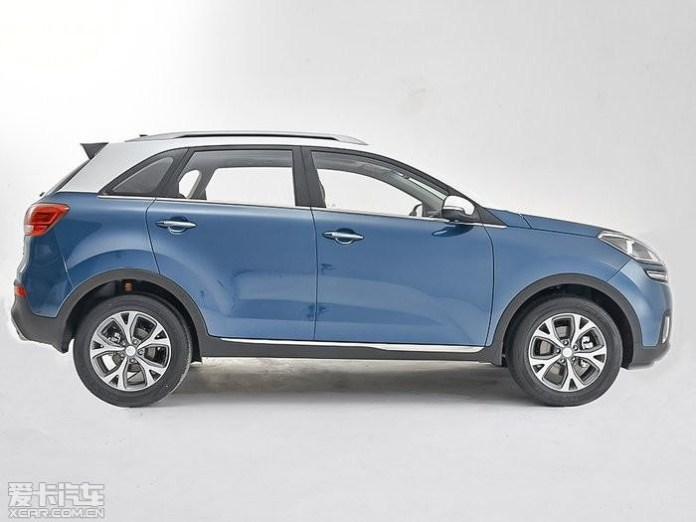 Kia KX3 leaked official image 3