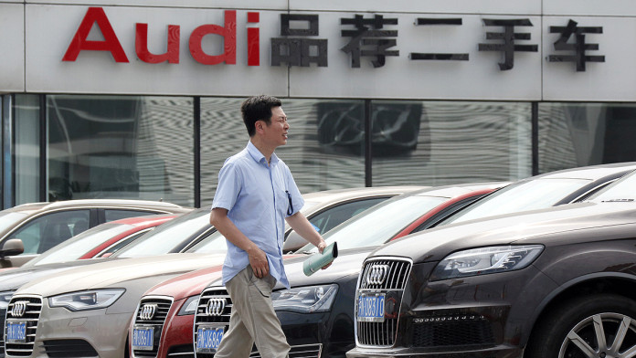 audi china car dealers sales