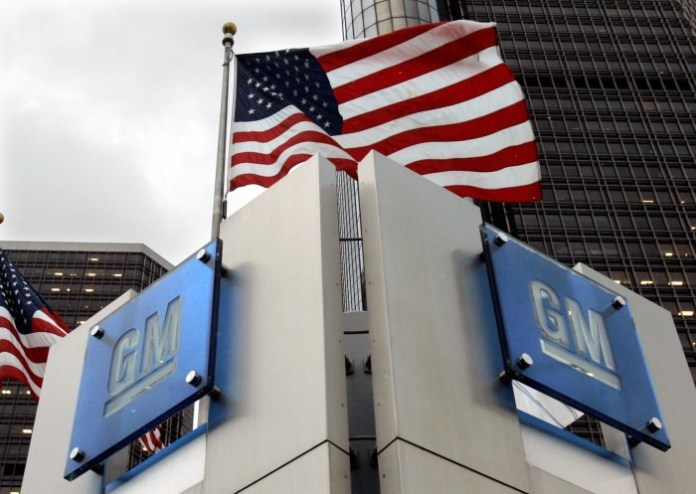 gm logo headquarters