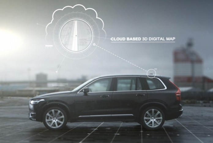 Volvo autonomous driving technology