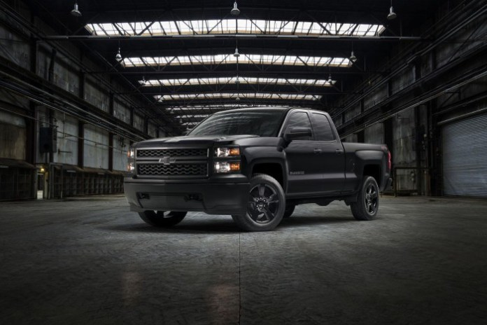 2015 Silverado 1500 WT Black Out