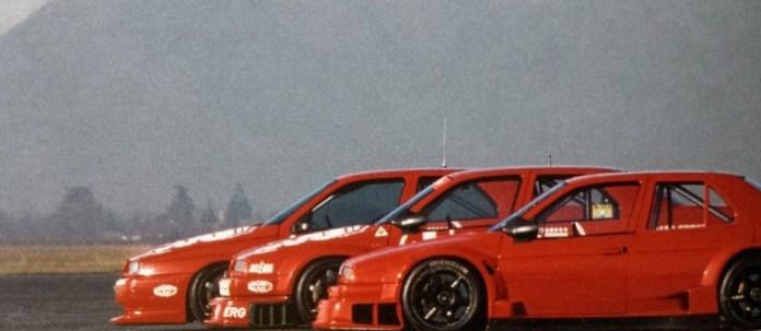155 GTA, 155 V6 TI ('93) και η έκδοση του 1994.Εμφανείς οι αλλαγές