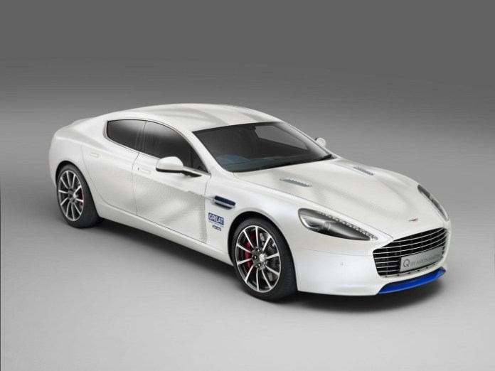 Aston Martin Rapide S for GREAT Britain international marketing campaign 1