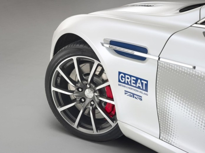 Aston Martin Rapide S for GREAT Britain international marketing campaign 2