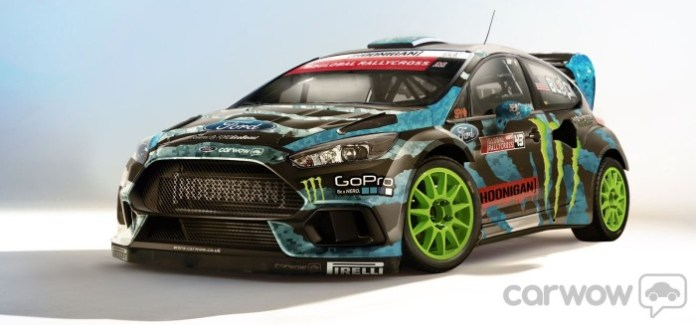 Ford Focus RS Ken Block renderings (1)